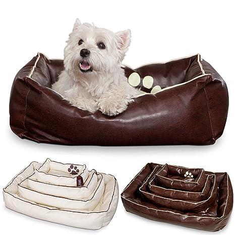 Smoothy Perros cesta de piel; cesta de perros; cama para perros para Luxus mascota