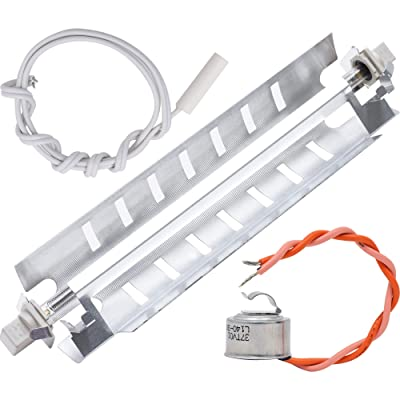 WR51X10055 Refrigerator Defrost Heater /& Thermostat Kit WR50X10068 for GE