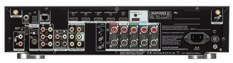 Marantz NR 1509 Negro 5.5 Canal Ultra Slim Receptor AV: Amazon.es: Electrónica