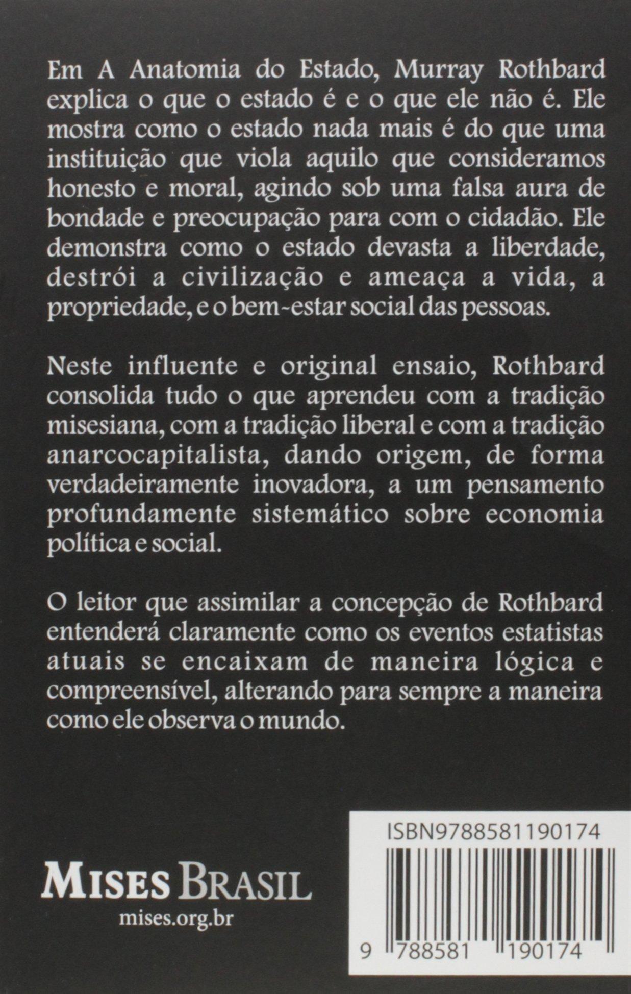 A Anatomia do Estado: Amazon.co.uk: Murray N. Rothbard ...