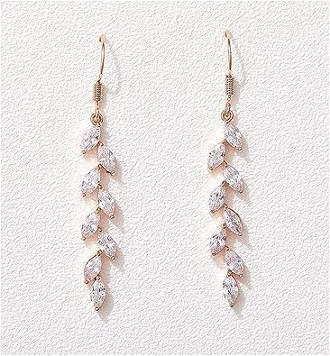 Bride Earrings Boho Wedding Earrings White Earrings Bridal Earrings Stone Earrings BOHO Wedding Earrings Wedding Jewelry