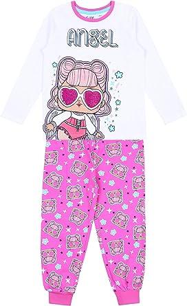 Pijama Color Blanco-Rosa L.O.L. Surprise: Amazon.es: Ropa y ...