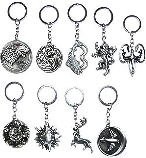 Amazon.com: Metal Keychain Game of Thrones - House Baratheon ...