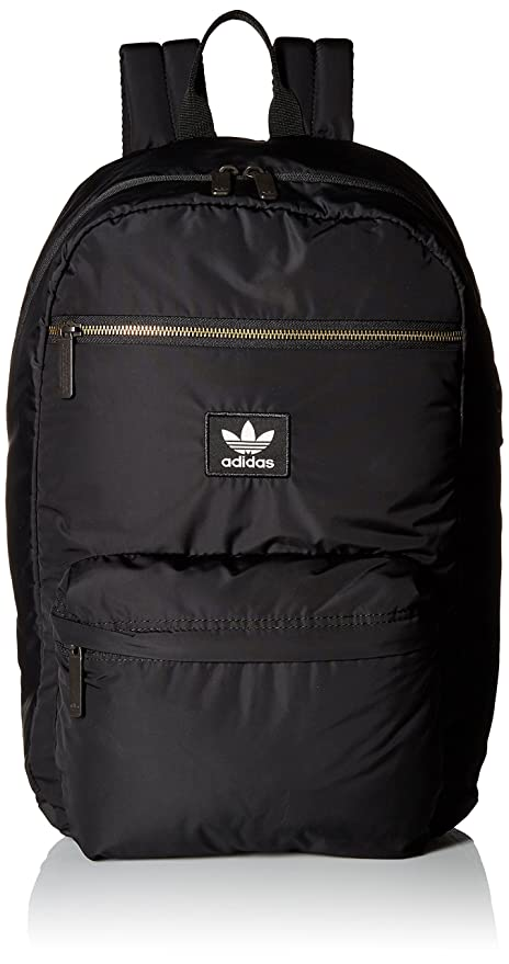 c42cc8533d Amazon.com: adidas Originals National Plus Backpack, Black, One Size:  Clothing