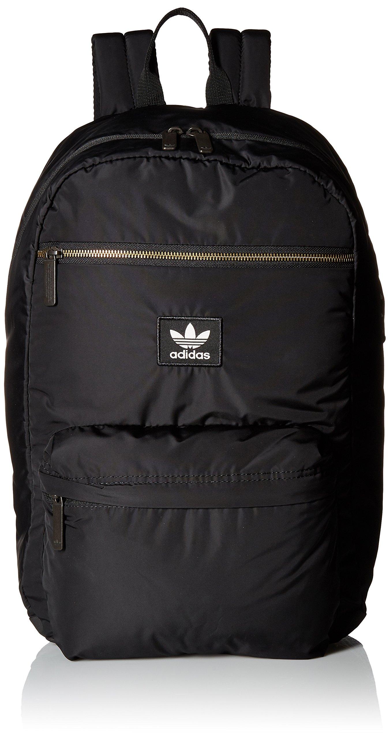 adidas Originals National Plus Backpack, Black, One Size