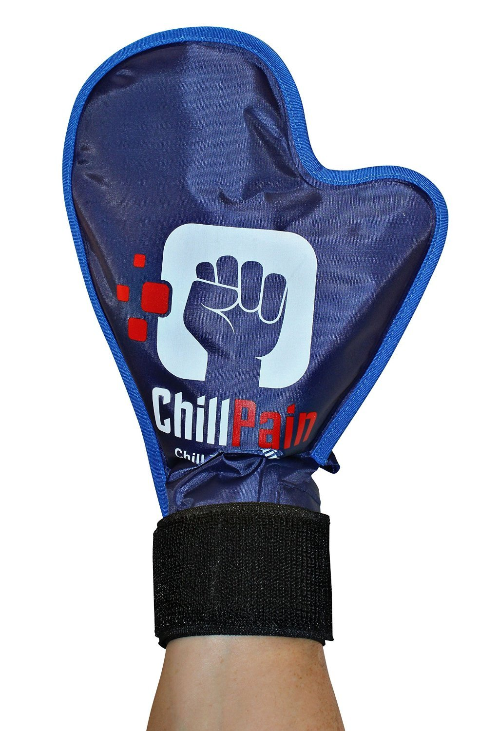 Cold Therapy Reusable Ice Pack Glove For Sore Hands By ChillPain. ChillPain Ice Pack Gloves are Exclusively Designed for Women and Men With Small to Medium Size hands (1 Glove) by ChillPain
