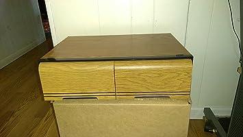 20 Capacity VHS Cassette Tape Holder Case Storage Cabinet