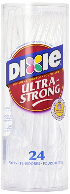 Dixie Ultra-Strong Forks 24ea