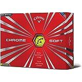 Calaway Chrome Soft Bolas de Golf, Hombre