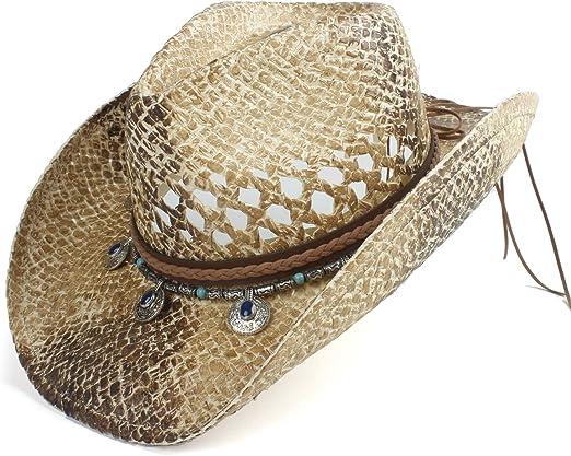NTFZ Sombreros y Gorras Sombrero de Vaquero Occidental para ...