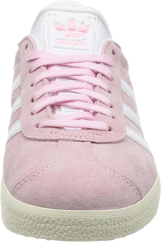 adidas Gazelle, Baskets Basses Femme Rose Wonder Pink Footwear White Gold Metallic
