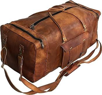 Cuero Ample Duffel Leather Luggage