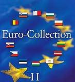 Münzenalbum Euro-Collection Band 2: Münzenalbum mit Microschaum zum Eindrücken der Münzen der 12 neuen EURO-Länder Bulgarien, Estland, Lettland, ... Tschechische Republik, Ungarn, Zypern