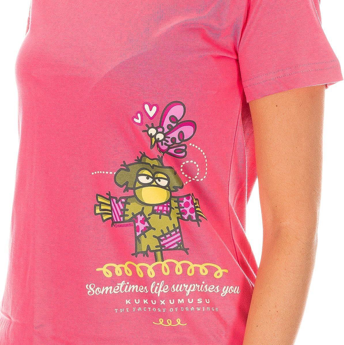 Kukuxumusu Pijama Sra. M/Corta: Amazon.es: Ropa