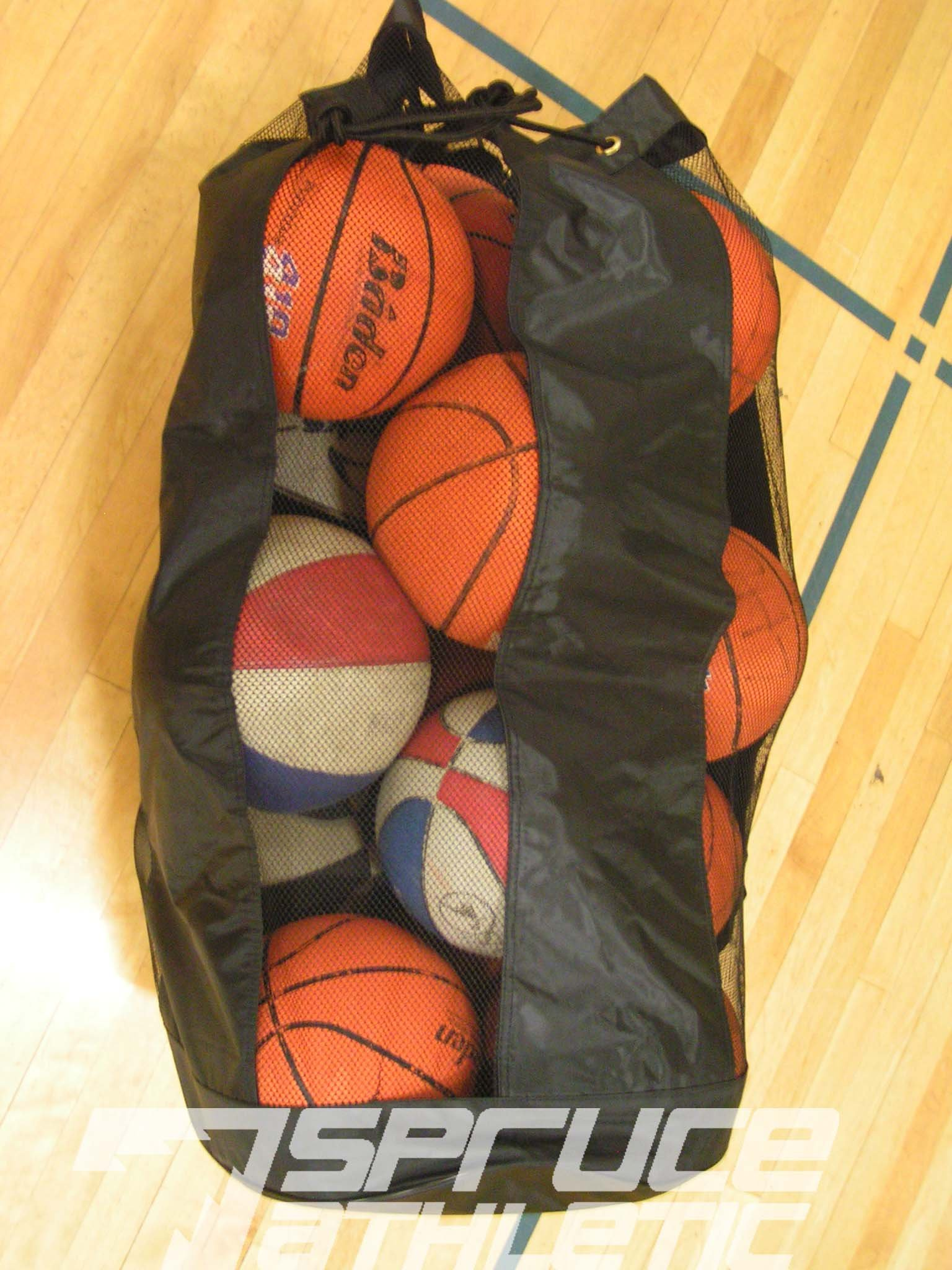 Spruce Athletic X-Large Heavy Duty Ball Bag (Holds 18 Soccer Balls or 15 Youth Basketballs) by Spruce Athletic (Image #6)