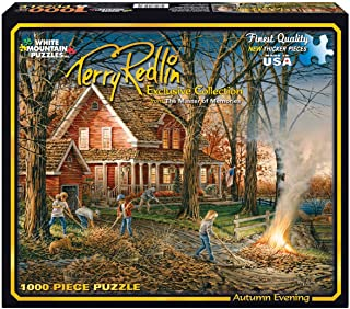 product image for White Mountain Puzzles Autumn Evening - 1000 Piece Jigsaw Puzzle