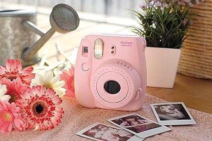 女生必备!拍谁谁好看!Fujifilm Instax mini 8 拍立得-粉色