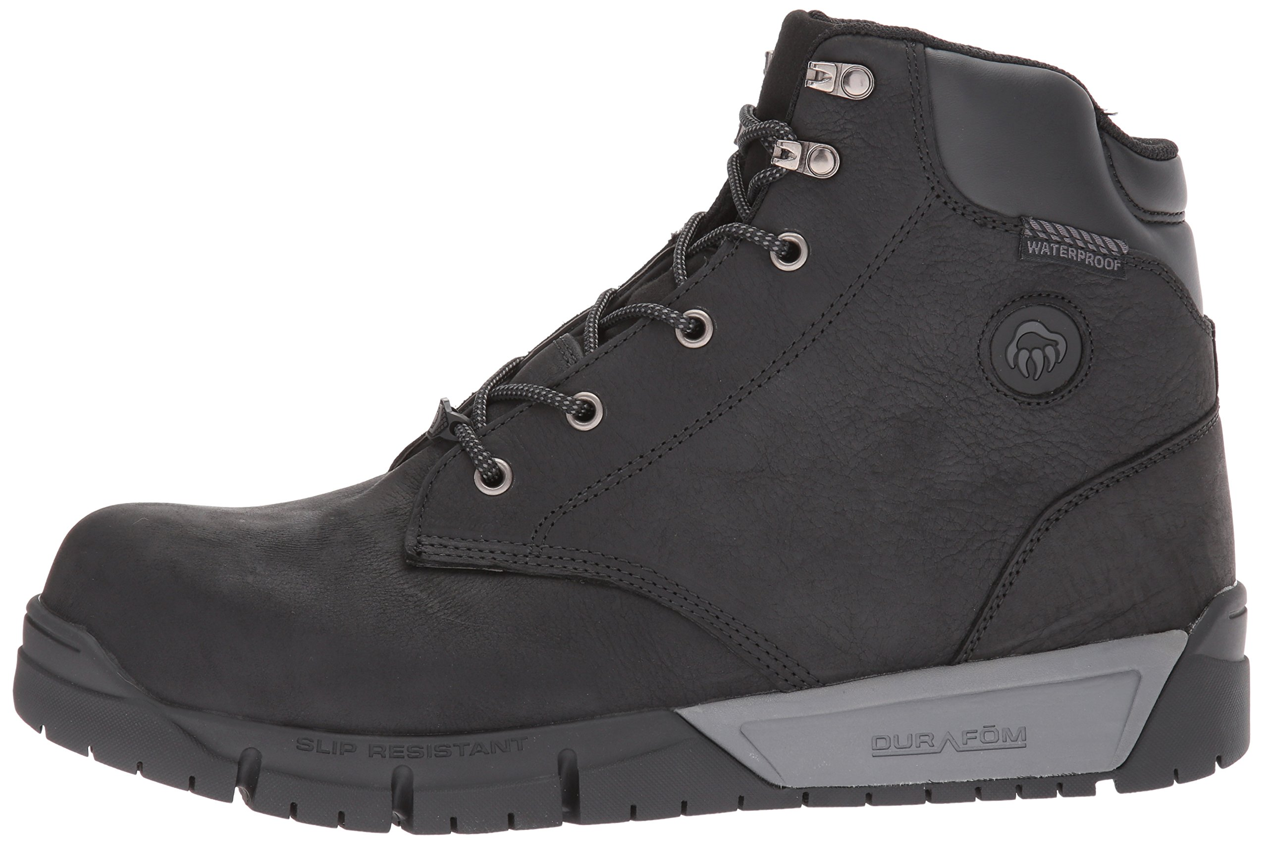 Wolverine Men's Mauler LX Composite Toe Waterproof Work Boot Black 7 W US by Wolverine (Image #5)