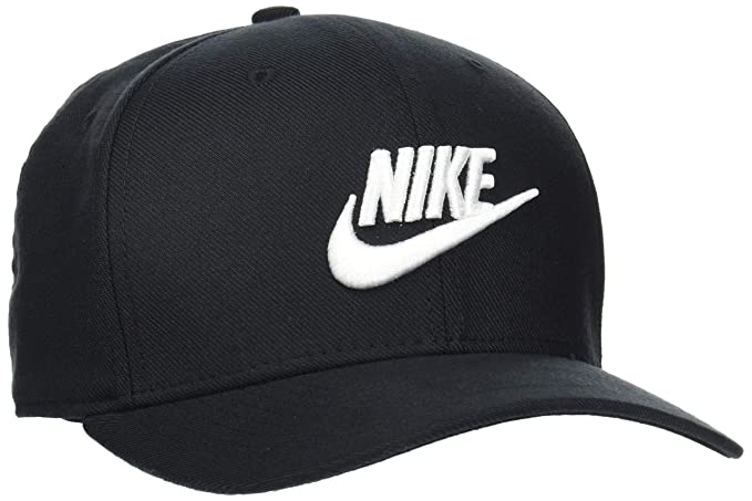 d26448f7461b3 Amazon.com   Nike Sportswear Classic 99 Cap Black White Size Medium ...