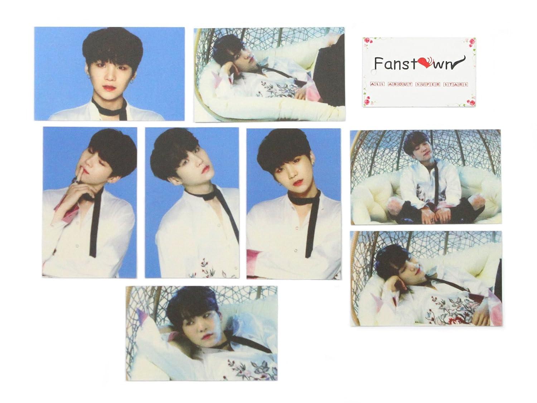 Fanstown Kpop BTS Bangtan Boys Love Yourself-O album photo lomo cards (BTS-LY LOMO/O) lomocard-BTSb-C