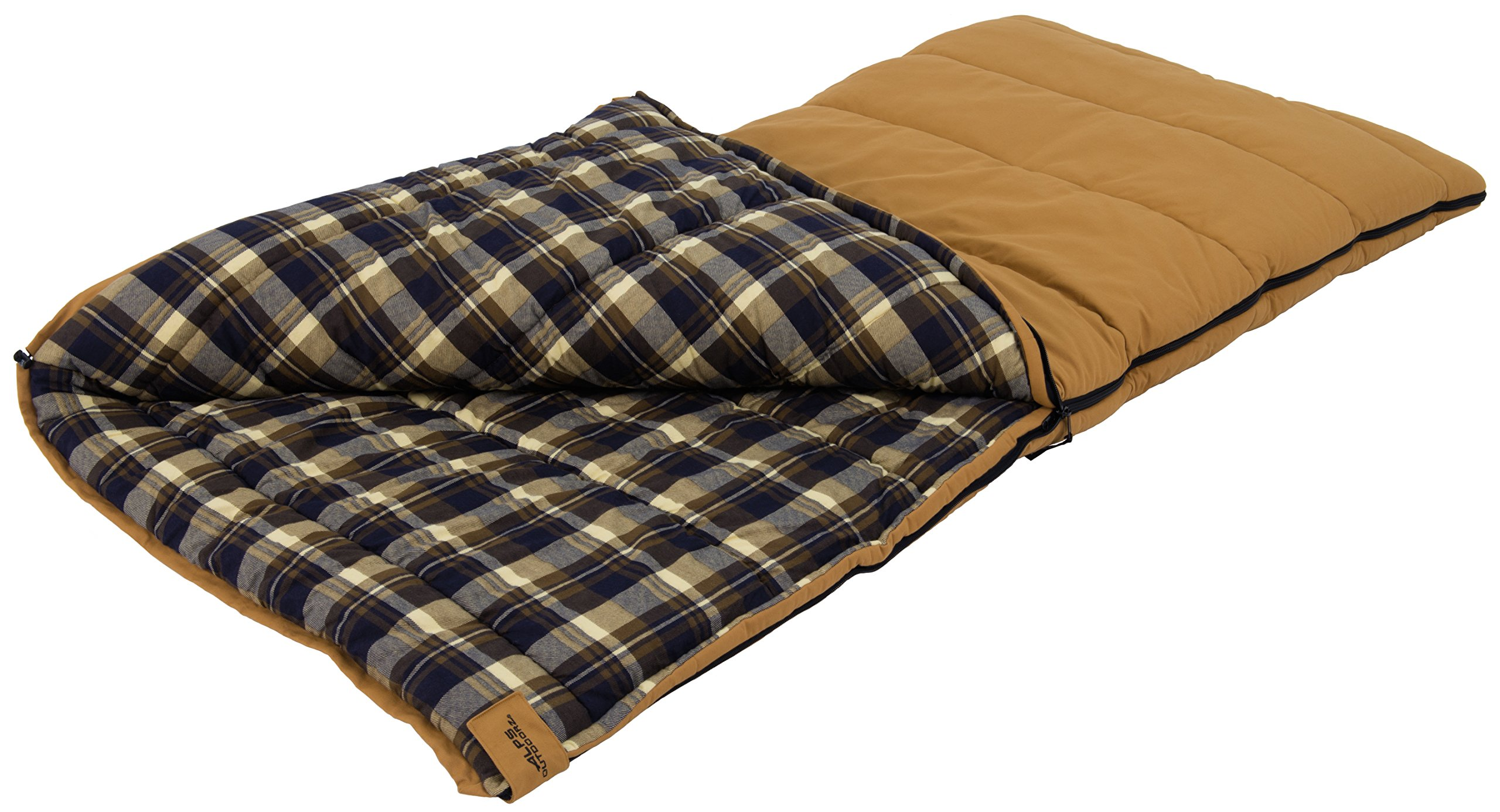 ALPS OutdoorZ Redwood -25 Degree Flannel Sleeping Bag by ALPS OutdoorZ
