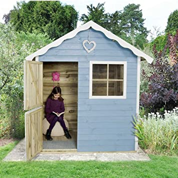 Thyme Kids Cabin Playhouse Childrens Garden Outdoor Playroom Wendy