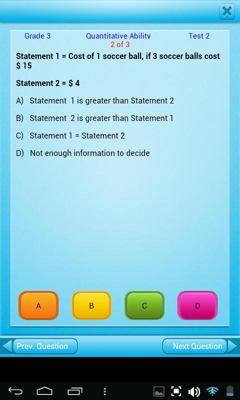 Amazon.com: FREE QVprep Lite 3rd grade maths (quantitative) and ...