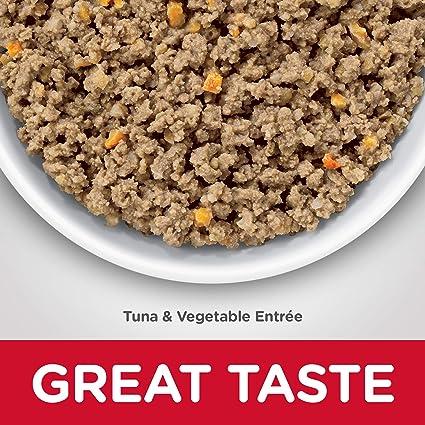 Amazon.com : Hills Science Diet Wet Cat Food, Sensitive Stomach & Skin, Tuna & Vegetable Entrée, 2.9 oz, 24-pack : Pet Supplies