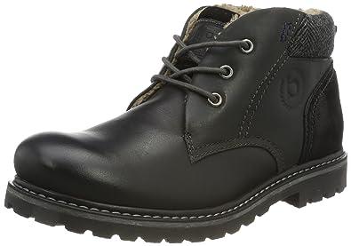 323398502600, Rangers Boots Homme, Noir (Schwarz 1000), 41 EUBugatti