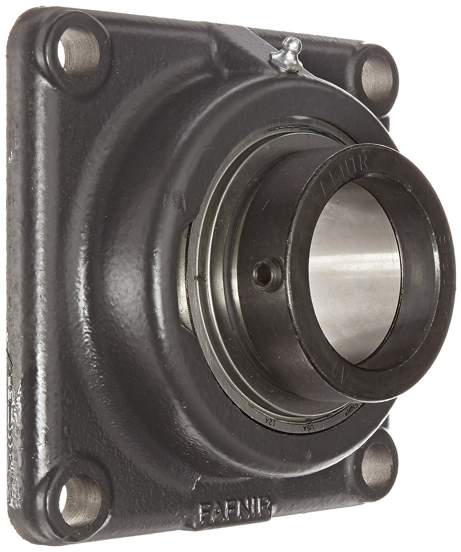 Eccentric Locking Collar Industrial-Duty 4 Bolt Holes Relubricatable Timken RCJ2 7//16 Flange Unit 2-7//16 Bore Diameter Non-Expansion Inch Cast Iron