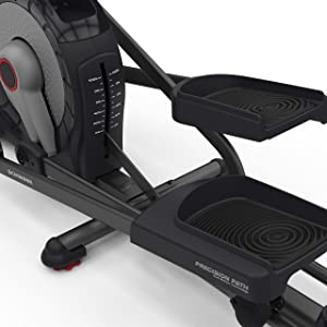 Schwinn elliptical stride