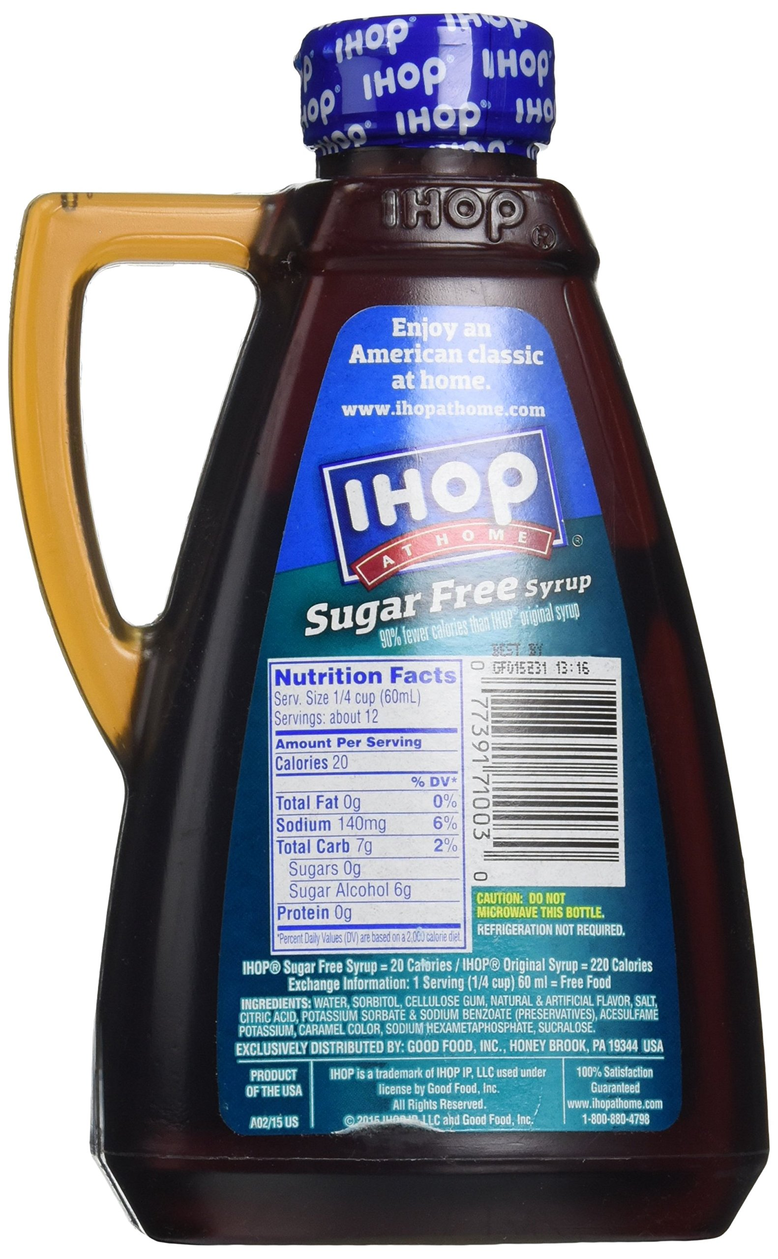 Ihop At Home Sugar Free Syrup, 24 oz by IHOP (Image #4)