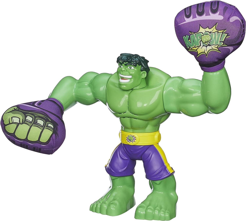 Playskool Marvel Super heroes Adventures Hulk with Grey Boots Hasbro 2016