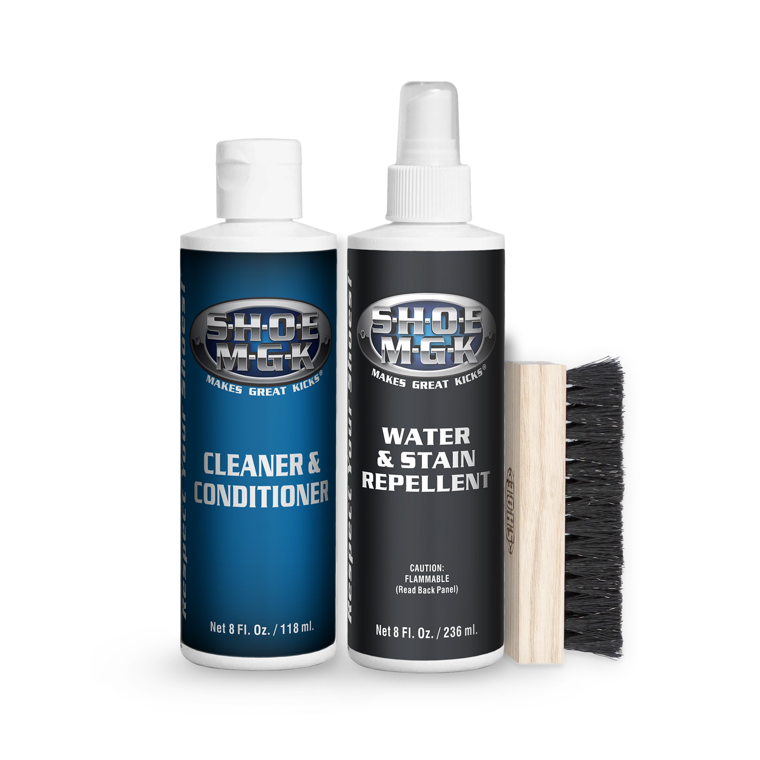 Shoe MGK Clean & Protect - Water & Stain Repellent Kit …
