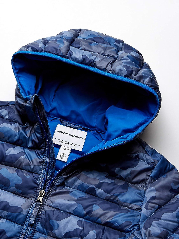 Outerwear-Jackets Essentials Veste /À Capuche L/ég/ère et Imperm/éable Gar/çon