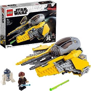 Comprar LEGO Star Wars TM Juguete Interceptor Jedi de Anakin con R2-D2, Multicolor (75281)