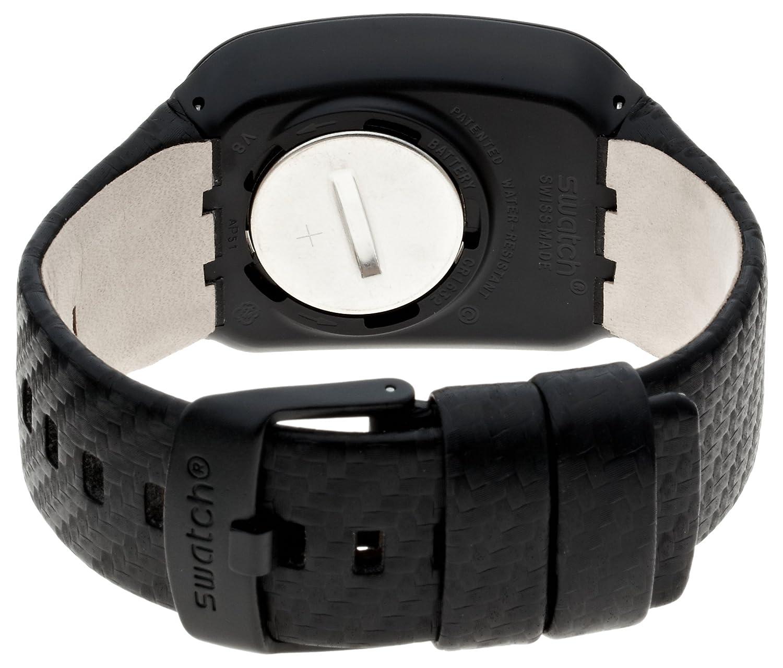 Silicona Cuarzo Con Correa De Unisex Swatch Reloj Digital UzVGjLSMpq