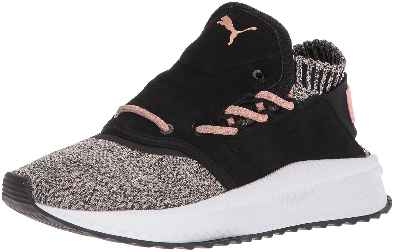 PUMA Women's Tsugi Shinsei Evoknit Wn Sneaker B072Y2SC71 8.5 B(M) US|Puma Black-whisper White-castor Gray