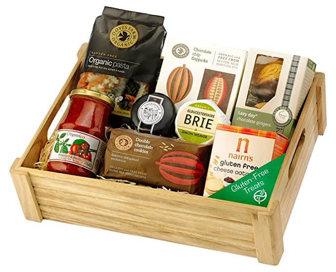 Regency hampers gluten free savoury selection in wooden crate regency hampers gluten free savoury selection in wooden crate negle Image collections