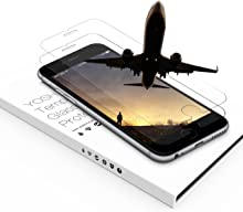 """YOSH Tempered Glass Screen Protector Compatible with iPhone 6 iPhone 6S 4.7"""" inch, 9H Hardness HD Anti-Fingerprint, Ultra-Thin, Bubble Free, Not Edge to Edge (2-Pack)"""