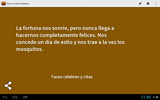Amazoncom Citas Y Frases Celebres Appstore For Android