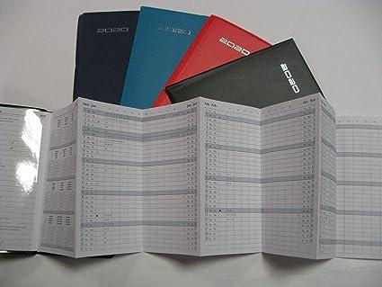 Agenda Planning mensual 2020 F.TO 7 x 13,5 cm Art.190VQ PVC ...