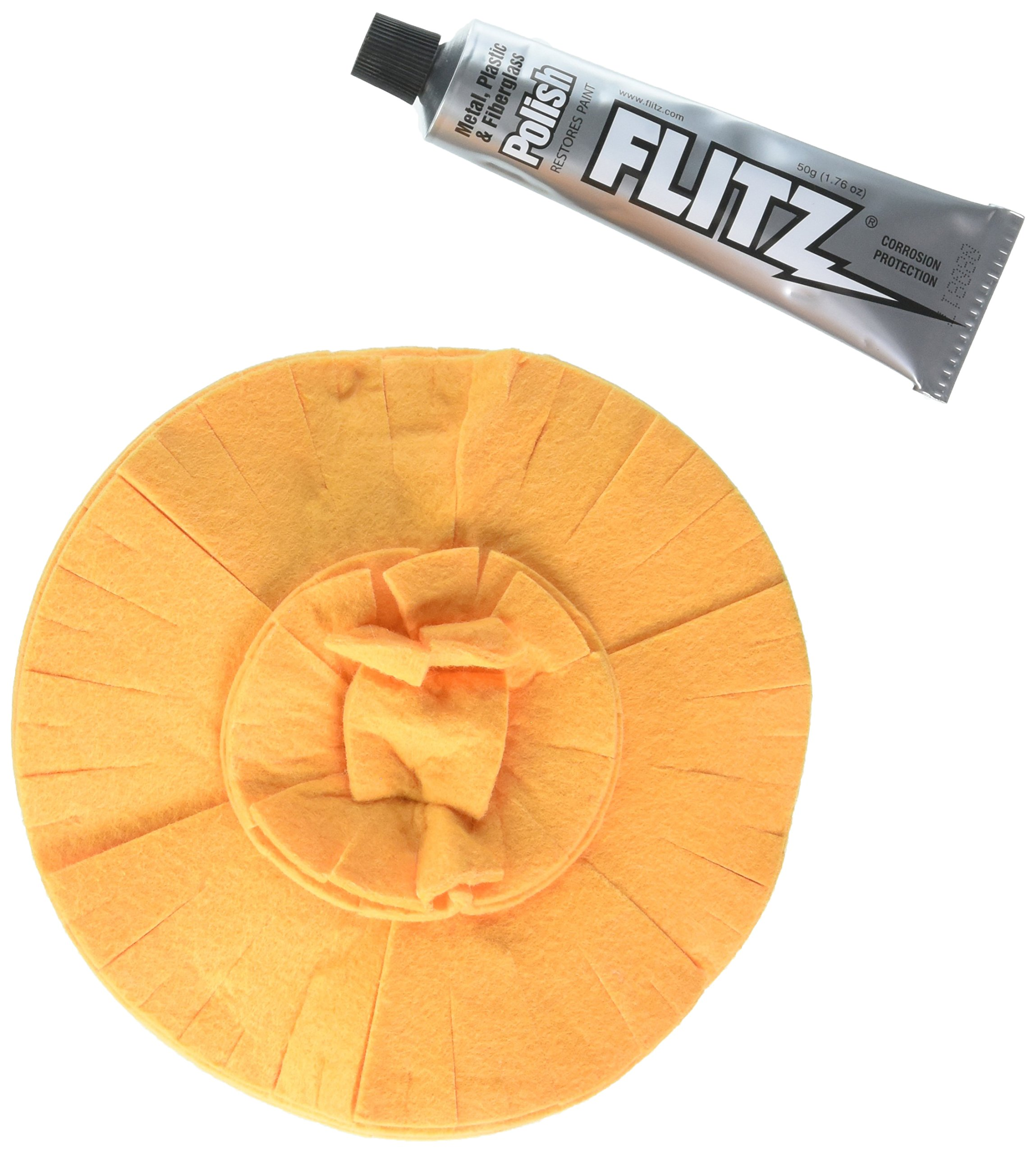 "Flitz PB101-50 PB101-50 Original Buff Ball - 5"",1 Pack"