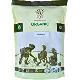 Arya Farm 100% Certified Organic Atta (Whole Wheat Flour), 2kgs (Unbleached/No Preservatives/No Chemicals/No Pesticides/No Added Preservatives)
