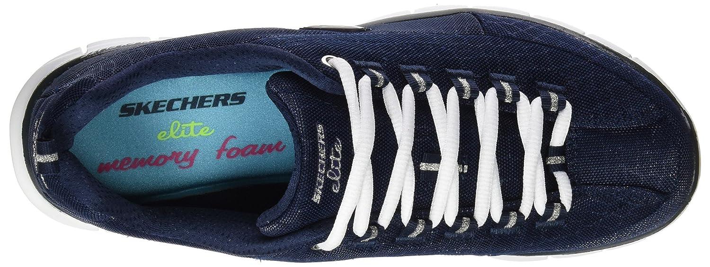 Skechers (SKEES Damen Synergy Funktionsschuh, blau (NVY), 37
