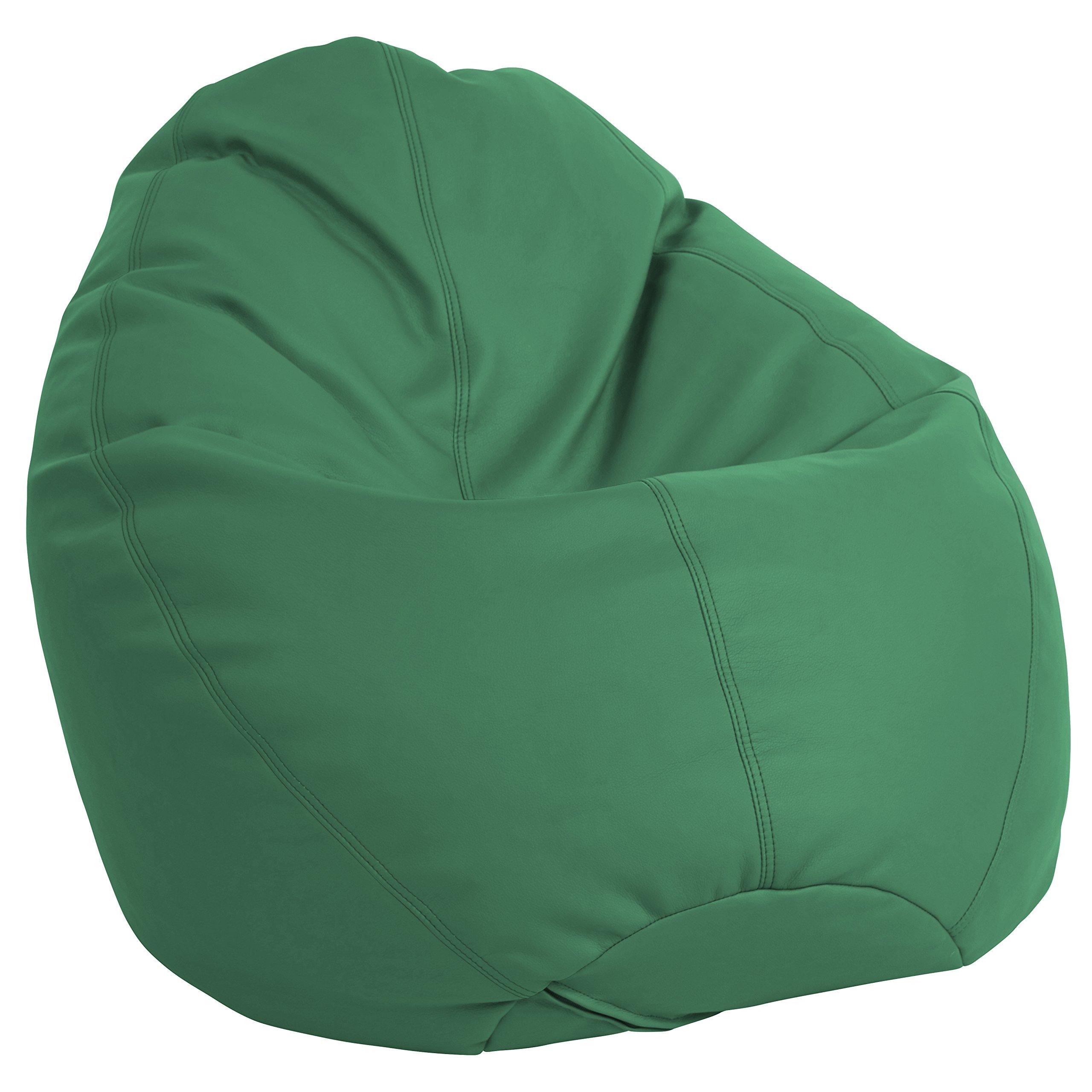 ECR4Kids Dew Drop Bean Bag Chair, Green