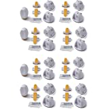 Safety 1st Adhesive Magnetic Lock System - 16 Locks & 4 Keys, White, One Size