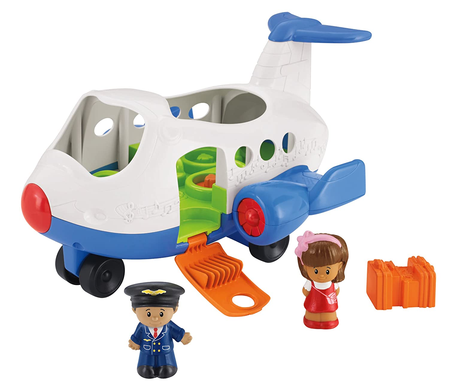 Amazon Fisher Price Little People Lil Movers Airplane Toys