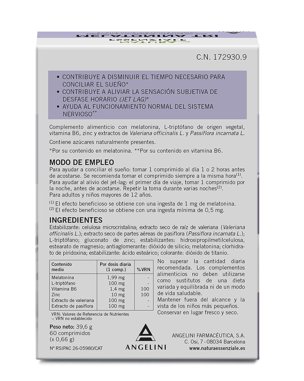 MELATONINA TRI ANGELINI 60 COMPRIMIDOS: Amazon.es: Salud y cuidado personal