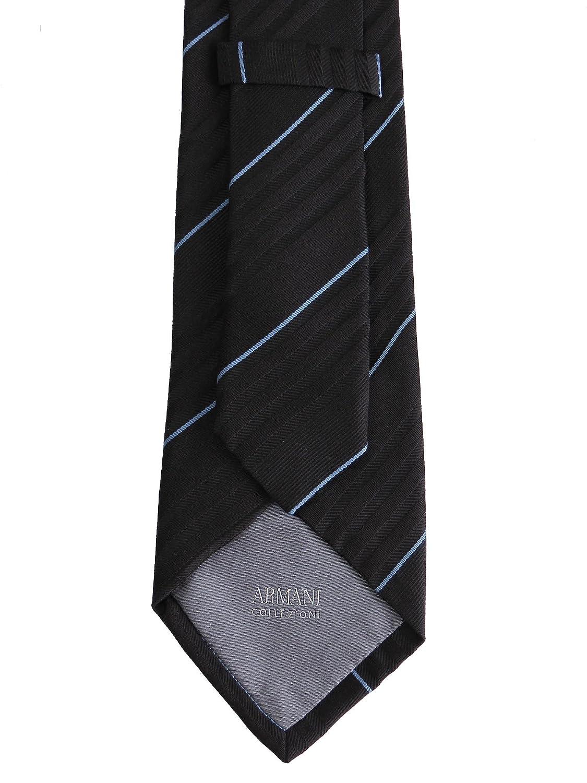 Armani - Corbata - para hombre Azul azul oscuro Talla única ...